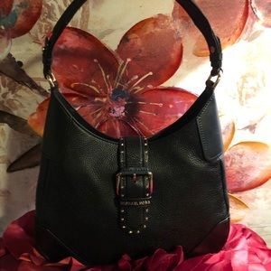 🌹MICHEAL KORS Lillian Med Gold Studs Shoulder Bag